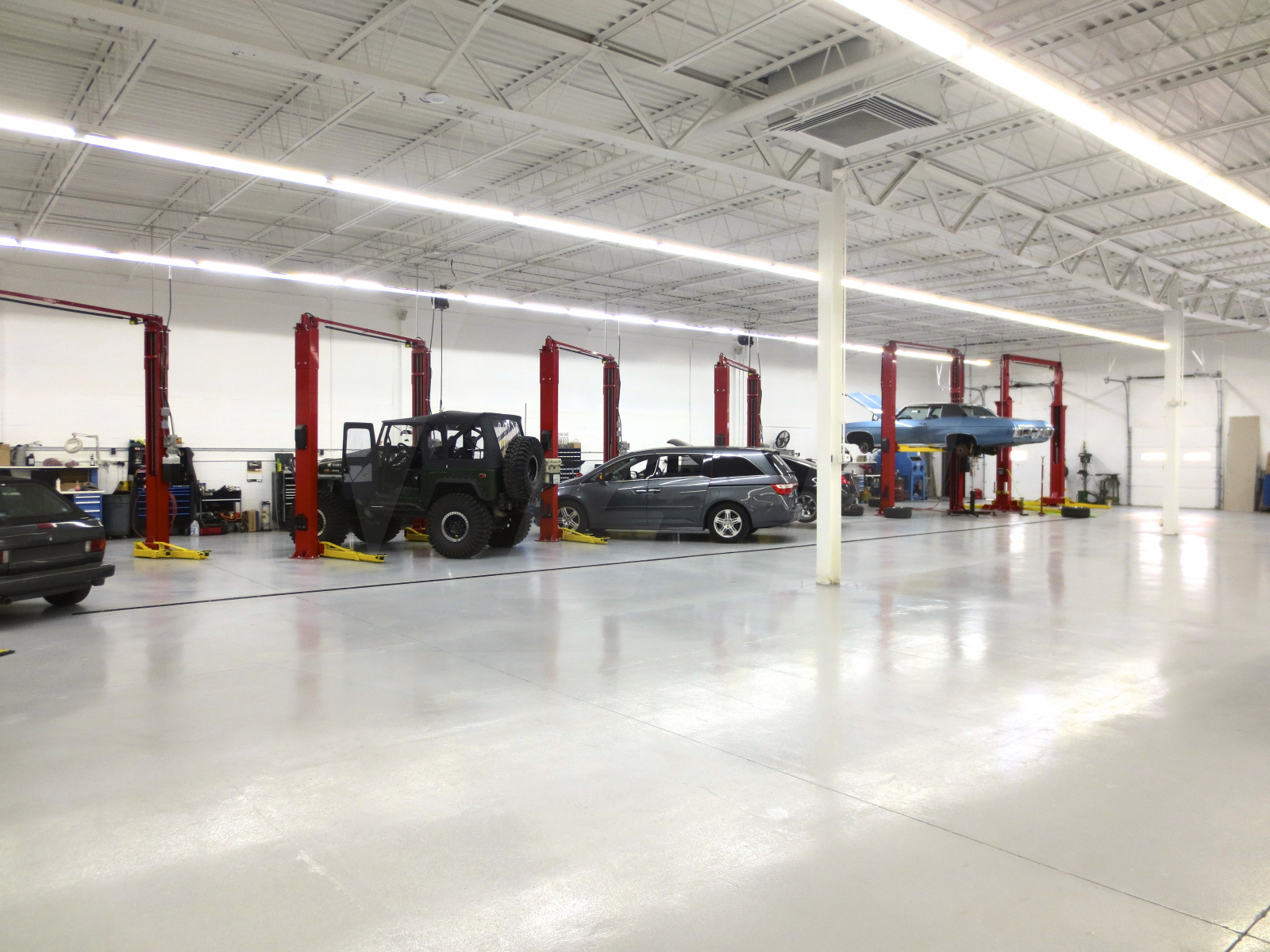 Epoxy Garage Sealers