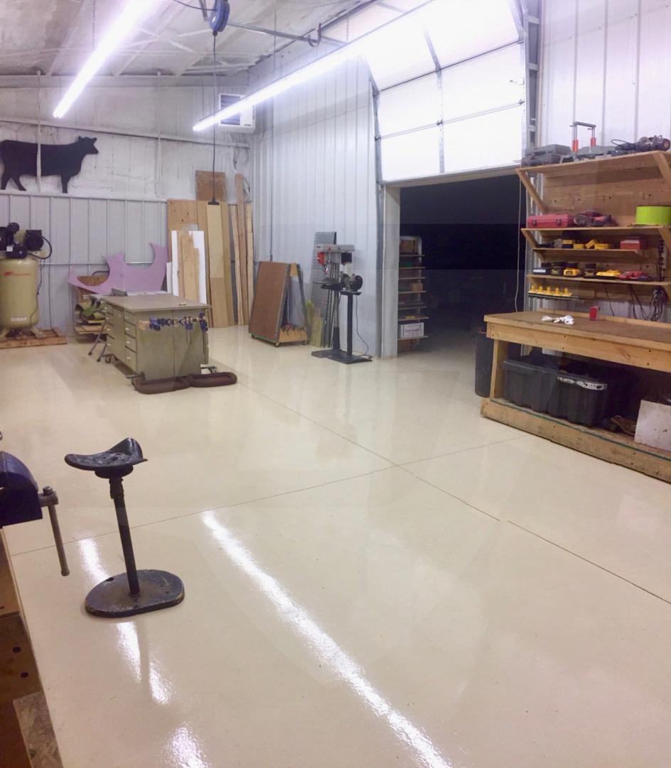 Epoxy 325 Durable Concrete Coating // Ghostshield