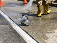 Ghostshield Concrete Sealers - Hydro-Etch 1000 Concrete Coating Customer Upload: Cleaning and etching concrete