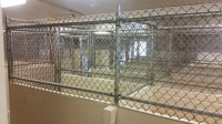 Ghostshield Concrete Sealers - Epoxy 325 & Urethane 645 Concrete Coating Customer Upload: Kennel application in beige