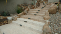 Ghostshield Concrete Sealers - Cryli-Tek 5505 Concrete Sealer Customer Upload: The 5505 helped bring the color back again on the upper aggregate steps