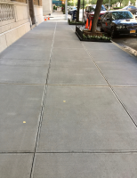 Ghostshield Concrete Sealers - Siloxa-Tek 8505 Concrete Sealer Customer Upload: Siloxa-Tek® 8505, applied to recently replaced sidewalks at 850 Park Ave in NY to protect against surface spalling and pitting and to reduce surface staining.