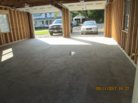 Ghostshield Concrete Sealers - Siloxa-Tek 8510 Concrete Sealer Customer Upload: Primed and sealed new garage floor, the puddle is two days old from driving Sonata in rain. Absolutely no change to finished concrete surface.