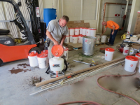 Ghostshield Concrete Sealers - Siloxa-Tek 8510 Concrete Sealer Customer Upload: Applying Siloxa-Tek® W/ Echo diaphragm sprayer