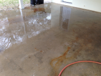 Ghostshield Concrete Sealers - Lithi-Tek 9500 Concrete Sealer Customer Upload: Before sealing