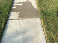 Ghostshield Concrete Sealers - Lithi-Tek 9500 Concrete Sealer Customer Upload: Before and after sealing